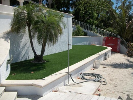 Naples Synthetic Turf Grass Installation