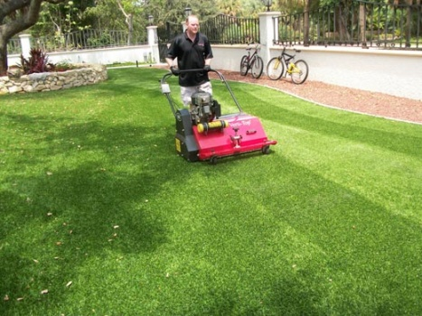 Broward Synthetic Turf Grass Installation