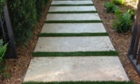 Artificial Grass Stepping Stones