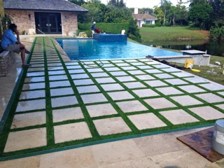 Grass Paver Strip Photos Artificial Grass Amp Turf