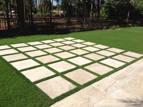 Grass Paver Strip Photos Artificial Grass Amp Turf
