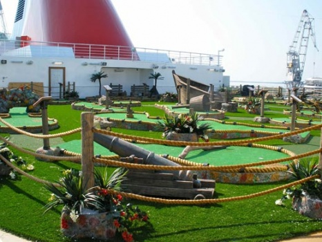 Cruise Ship Mini Golf Courses