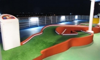 Cruise Ship Putting Greens