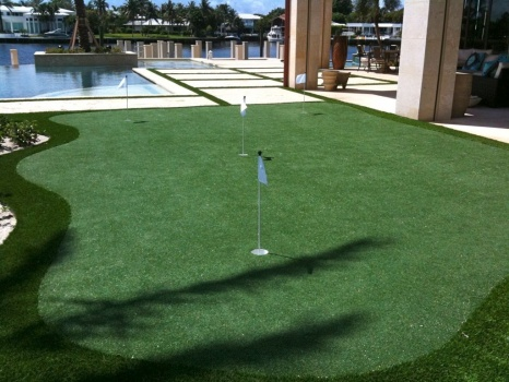 Boca Raton putting green