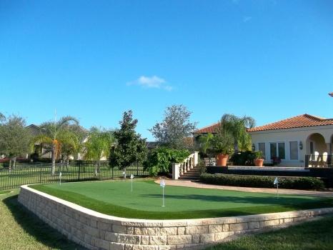 Orlando golf green