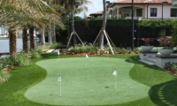 artificial putting green