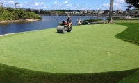Rolling a Putting Green