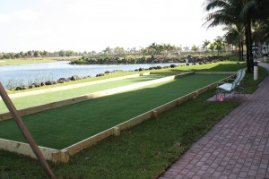 Marriott Bocce Courts Southwest Greens