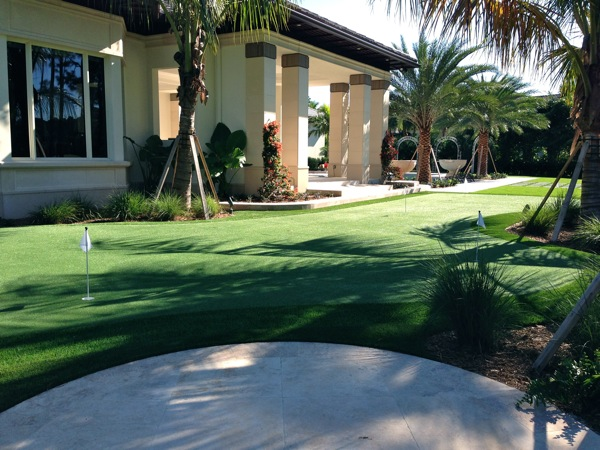 Beach garden house palm strip join told