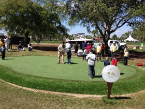 Putting contests benefitting the First Tee by Southwest Greens