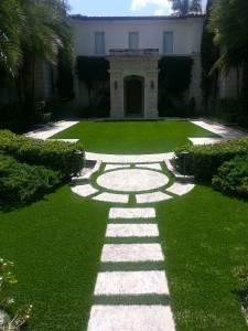 Miami Artificial Grass Installation