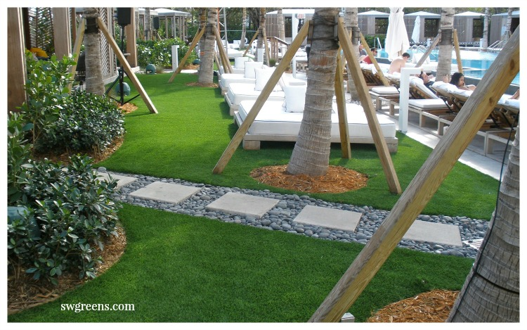 artificial lawn commercial