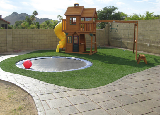 artificial turf in orlando for backyard playgrounds