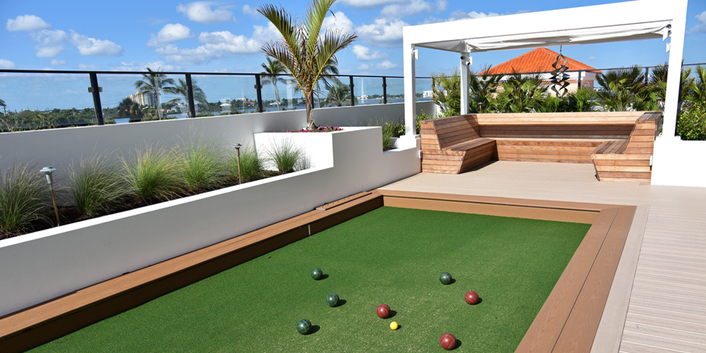 Artificial Turf In Orlando For Backyard Bocce Courts