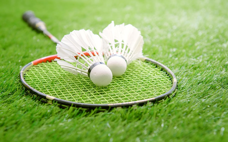 synthetic lawns in miami for badminton