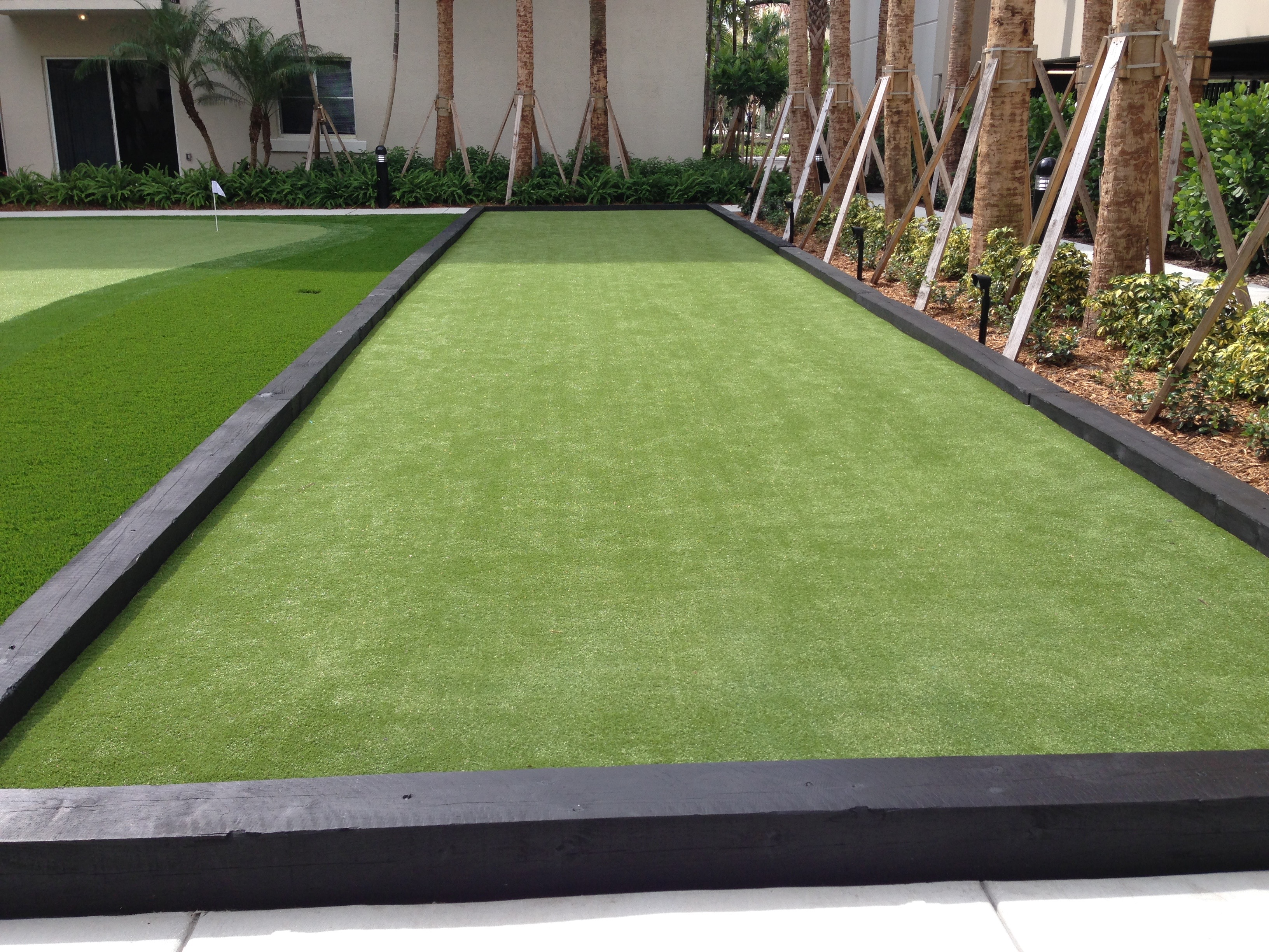 where can i get the best artificial grass in miami for my bocce ball court
