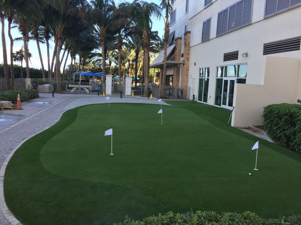 how can i keep my artificial turf in miami a cool temperature