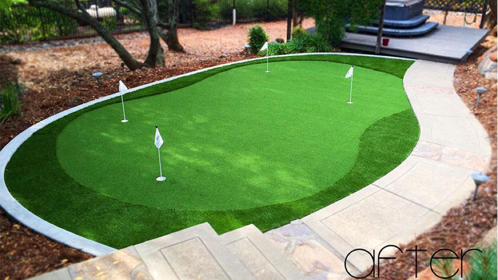 Who offers artificial turf in Florida?