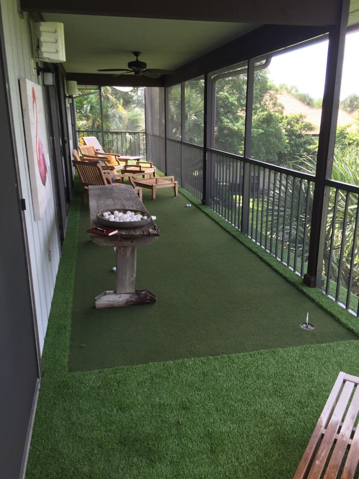 Where is the best fake grass west palm beach?