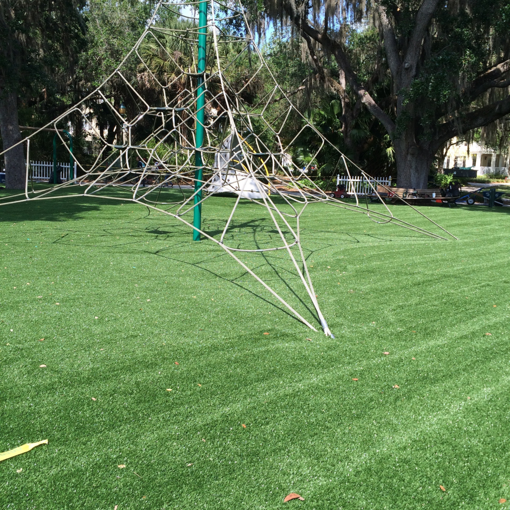 how safe is artificial grass in orlando