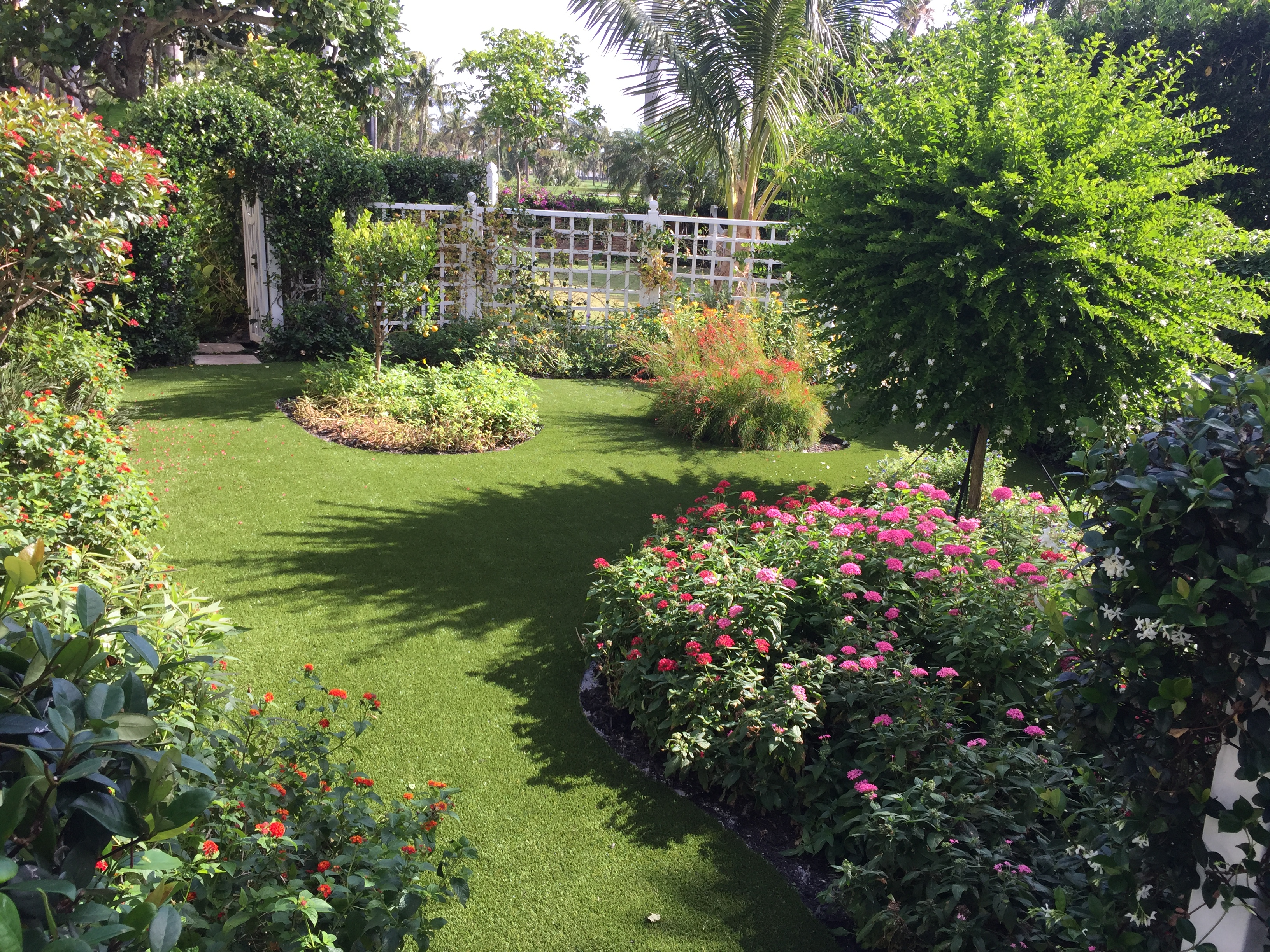 What is synthetic grass in Florida