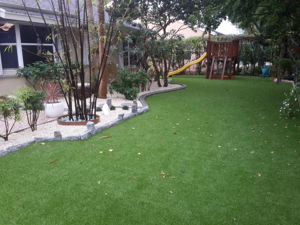 How can artificial grass in Miami save me money?