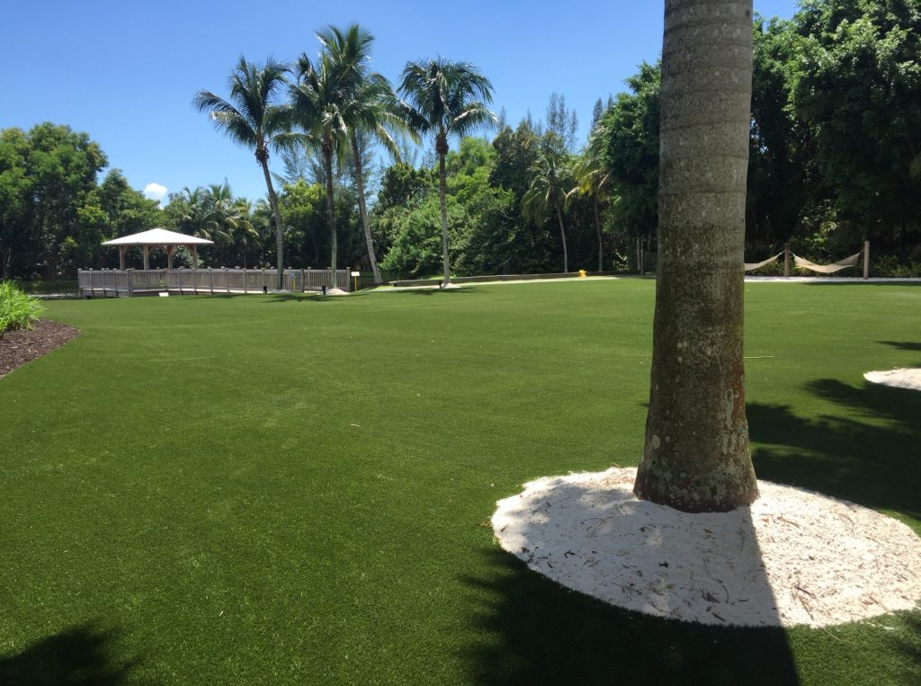 what is plastic grass florida?